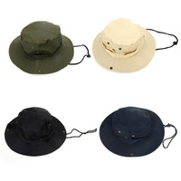 2014 NEW Outdoor Fishing Camping Hiking Sun Cap Round Rim Men Women Hat Drop shipping 4 Colors