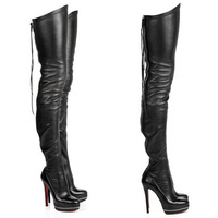 Ladies Over The Knee High Heeled Boots,Platform Thigh High Boots,Elastic Women Boots Hot Sell 2014