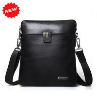 2014 New Arrival Man Shoulder Bag High Quality Brand Name Fashion 100% Genuine Leather Dual Function Messenger Men's Bag,HD-D3-1