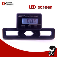 Freeshipping GARTT Heli Electronic Digital Pitch Gauge For  RC Helicopter Big Sale