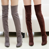 New Winter Autumn Boots For Women Sexy Knee High Heels Ankle Women Snow Boots Fashion Ladies Platforms Boots Big Size SRXZ1033