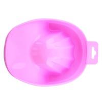 1 PCS UV Gel Acrylic Nail Art Tips Hand Soak Bowl Tray Treatment Remover Manicure