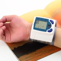 1PC Digital LCD Wrist Cuff Arm Blood Pressure Monitor Heart Beat Meter Machine Newest