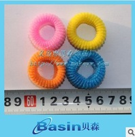 Wholesale/Retail Mix color small ponytail holder Candy color elastic bands for kids Popular headbands
