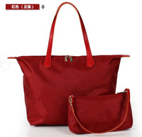 TRUE Let it be brand women's fashional casual  nylon  canvas picture package tote handbag