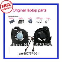 New Original cpu cooling fan for HP Pavilion DV6 DV6-6000 DV6-6050 DV6-6090 DV6-6100 DV7 DV7-6000 650797-001 MF60120V1-C180-S9A