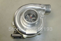 High Performance turbocharger New T3T4 T3 T4 TO4E 5 bolt A/R .63 comp A/R .50 water and oil Turbo Charger