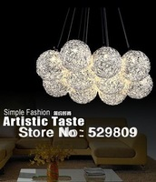 Free shipping 60*60*35cm G4 Modern Chandeliers lamp dining room living room, chandelier lamp -10pcs G4 low-voltage lamp