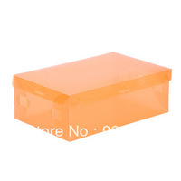 1408 Love colored transparent plastic clamshell home boys and girls shoes shoebox debris storage box storage box