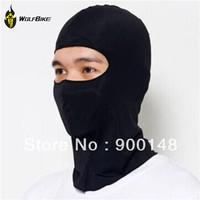 WOLFBIKE Ultra Thin Ski CS Face Mask Hood Helmet Balaclava Hat Headwear For Cycling Motor Bike Football Black Anti UV Quick Dry