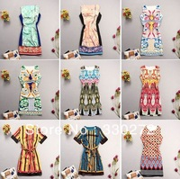 Mix Style Wholesale 10/Lot High Quality Export To Europe Women Dress Fashion Dress For Autumn Summer