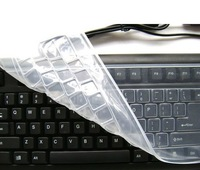 Thin full transparency, excellent touch, desktop computer keyboard protective film Universal silicone membrane keyboard membrane