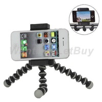 Universal Flexible Legs Tripod Stand Holder for iPhone iPod Samsung and Other Cellphones    Free Shipping at WantBuyLetBuy
