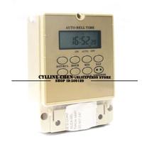 TOONE digital automatic school bell timer ZYT05 220V (ENGLISHI VERSION )