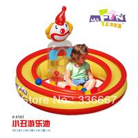 Inflatable multifunctional naughty fort ocean ball pool