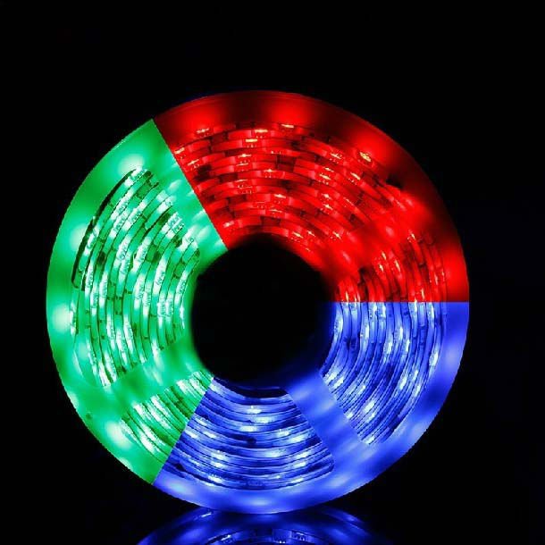 5 M Spool 150 LEDs SMD5050 Non Water-proof Flexible Ribbon LED Strip RGB Color Changing Light,Cristmas Decoration,Free Shipping(China (Mainland))