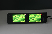 "Lilliput RM-7028S Dual 7"" 3RU Rack Monitor WIht Dual 3G SDI HDMI Vdeio Input and out"