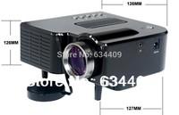 Mini Portable LED Digital 480x320 Video Projector With Remote Controller Support AV/USB/SD/VGA HDMI