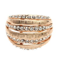 Arinna  Free Shipping 18K  White Gold Plated silver alloy Rings, Make With Austria Crystal Rings J3049