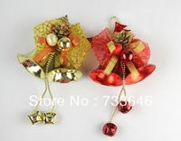 Free Shipping! 12pcs/lot Popular Christmas Jingle Bells X-mas Decorations Merry Christmas