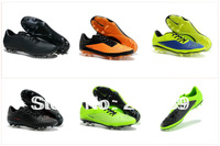 Free shipping! 2013 hot selling football shoes, new style athletic soccer boots, cheap Ronaldo hyperVenom men's soccer cleats