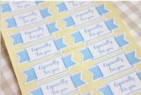 gift packaging decoration stickers