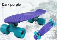 "Free shipping 22""Crazy Banana Penny skateboard mini Cruiser Skateboard with complete longboard skate board good skateboard1pcs"