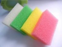 20Pcs/lot Imitation loofah Magic Multi-function Non-stick oil Efficient Dish Cleaning Sponge Cleanerkitchen cleaning Sponge C313