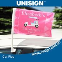 UNISIGN hot selling window mounted car flag