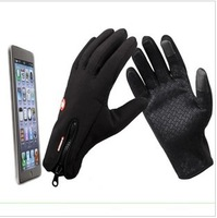 bike  gloves,  riding gloves,Outdoor gloves touch screen sports hiking skiing ride car Men full finger gloves winter windproof