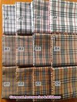 12Colors Wide 145cm small brand artificial cotton Classic British/London Style Grid plaid tartan Fabric,skirt fabrics for DIY