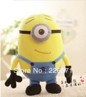 Despicable Me 2 Precious Milk Dad Xiao Huang human eye Despicable Me 3D doll plush toys