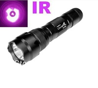 NEW Goldjoy-Ultrafire Wf-502b Cree Infrared Ir 3w LED Night Vision Flashlight Torch 18650 Free shipping