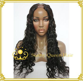 fashion long wavy 130 density 100 human hair cheap