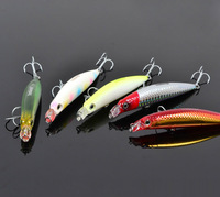 Trulinoya DW18 90mm/10g Quality Plastic Minnow fishing lures fishing hard bait