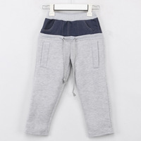 2014 autumn and winter pocket boys clothing baby child fleece casual pants long trousers kz-0728 K2123