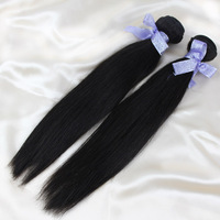"Queen Malaysian Virgin Hair Straight Hair Weft Human Hair Extensions Natural Color Factory Sale 8"" to 28"" Long AND Short  Weave"