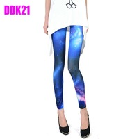 New Womens Punk Sexy Funky Stretchy Leggings Pencil Skinny Pants Pick DDK21