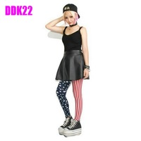 New Womens Punk Sexy Funky Stretchy Leggings Pencil Skinny Pants Pick DDK22