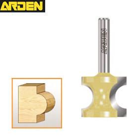 Woodworking 1 Pc  Arden Wood Router Bits 0607 Half Round Side Cutter Bit 1/2*3/4
