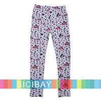 2014 New Fashion Girls Autumn Clothing Kids Leggings Children Pants,Free Shipping   K3197
