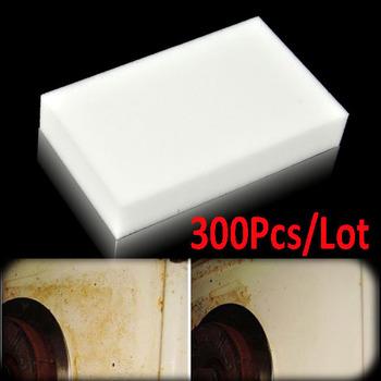 300pcs/Lot Magic Sponge Eraser Melamine Cleaner,multi-functional Cleaning 100x60x20mm Wholesale 6383