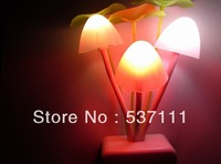 1pc LED children toys sconce wall nightlights ornamental solar 220V led lights twilight fixtures flowerpot wall lamps