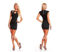 Hot Promotion Women and Ladies New Dress with Hole in Front
