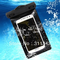 NEW Univeral IPX8 Waterproof Dry Pouch Bag Case Cover  underwater for   BlackBerry Z10 Bold 9900 9930 Porsche P'9981 Smartphone