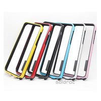 High Quality Fashion Dual-color Design Frame Bumper Soft TPU+ PC Protective Case Cover for iPhone 5C Free Shipping