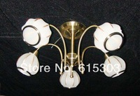 Fashion high power  E27 glass ceiling lamp design for home/restaurant decoration .
