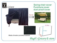 New arrival and free shipping water ,dust and ultraviolet-proofed garden swing cover-NC190