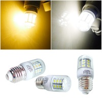 NEW E27 27SMD LED SPOTLIGHT high power Led Bulb Lights 3.5W 800Lm 5730CHIP + Ttransparent Cover Warm white/pure white
