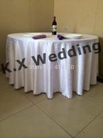 280cm Round Jacquard Damask Table Cloth
